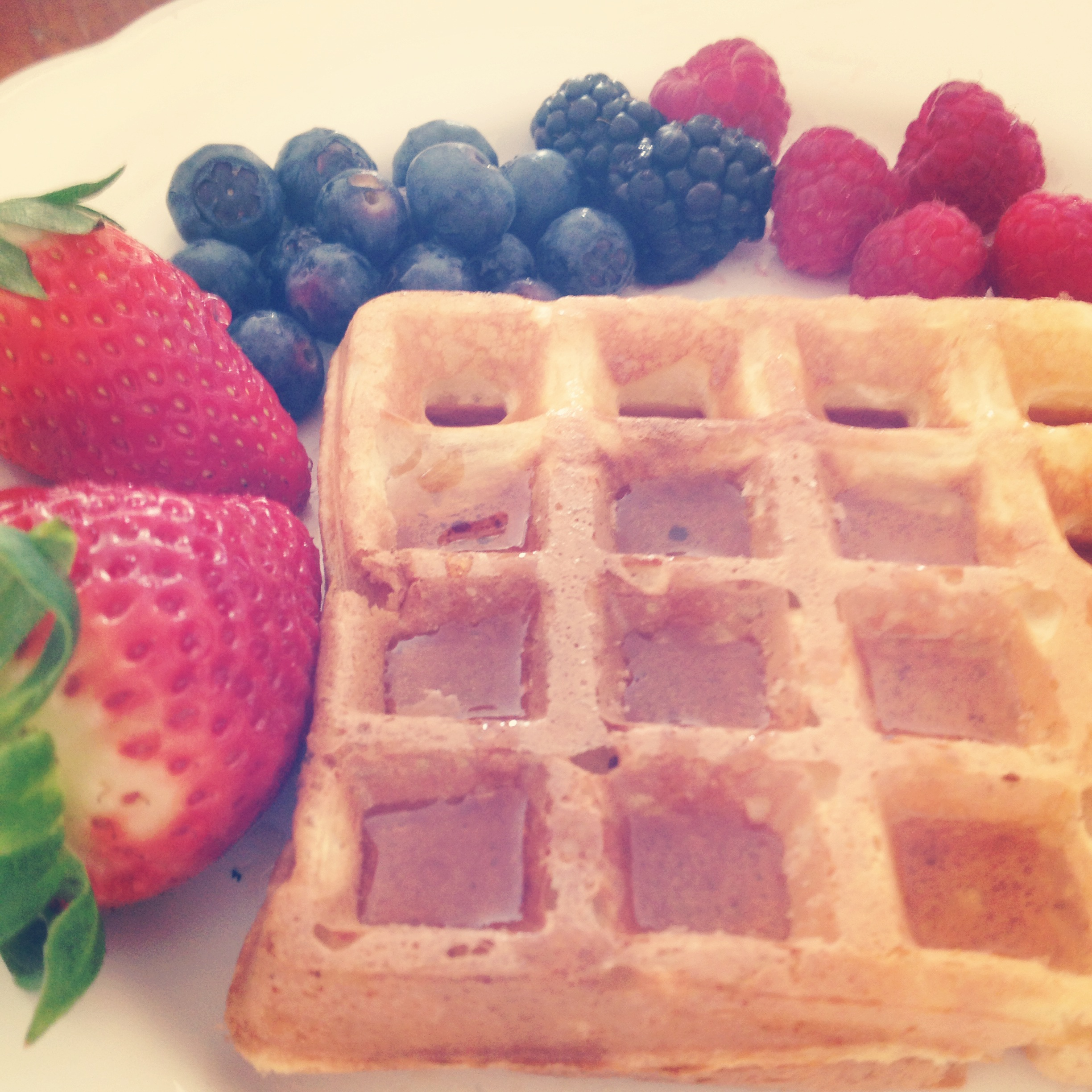 Recipe: Easy yogurt waffles  | fructosefree, lactosefree