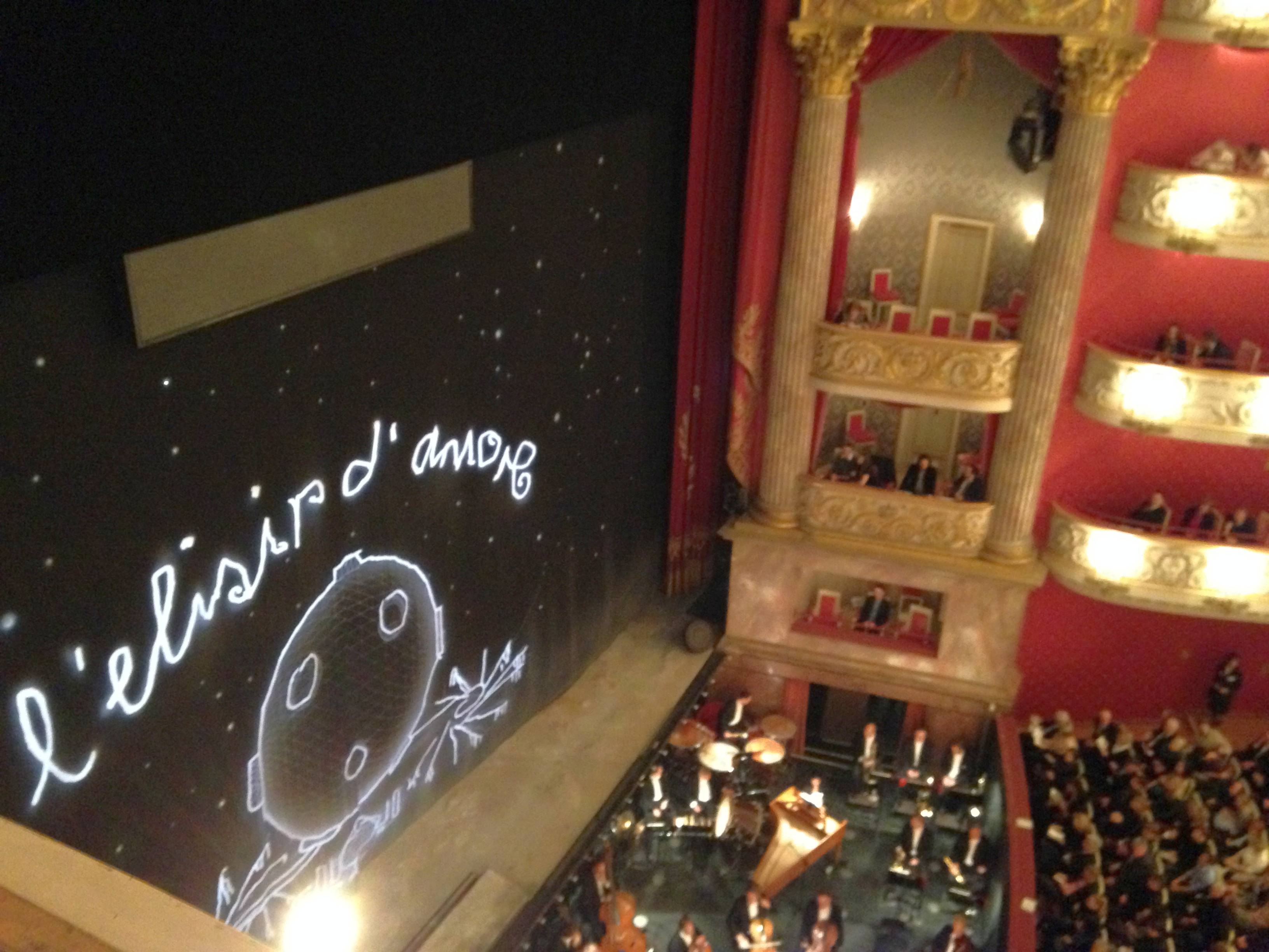 L´elisir d´amore – a nice evening in the opera