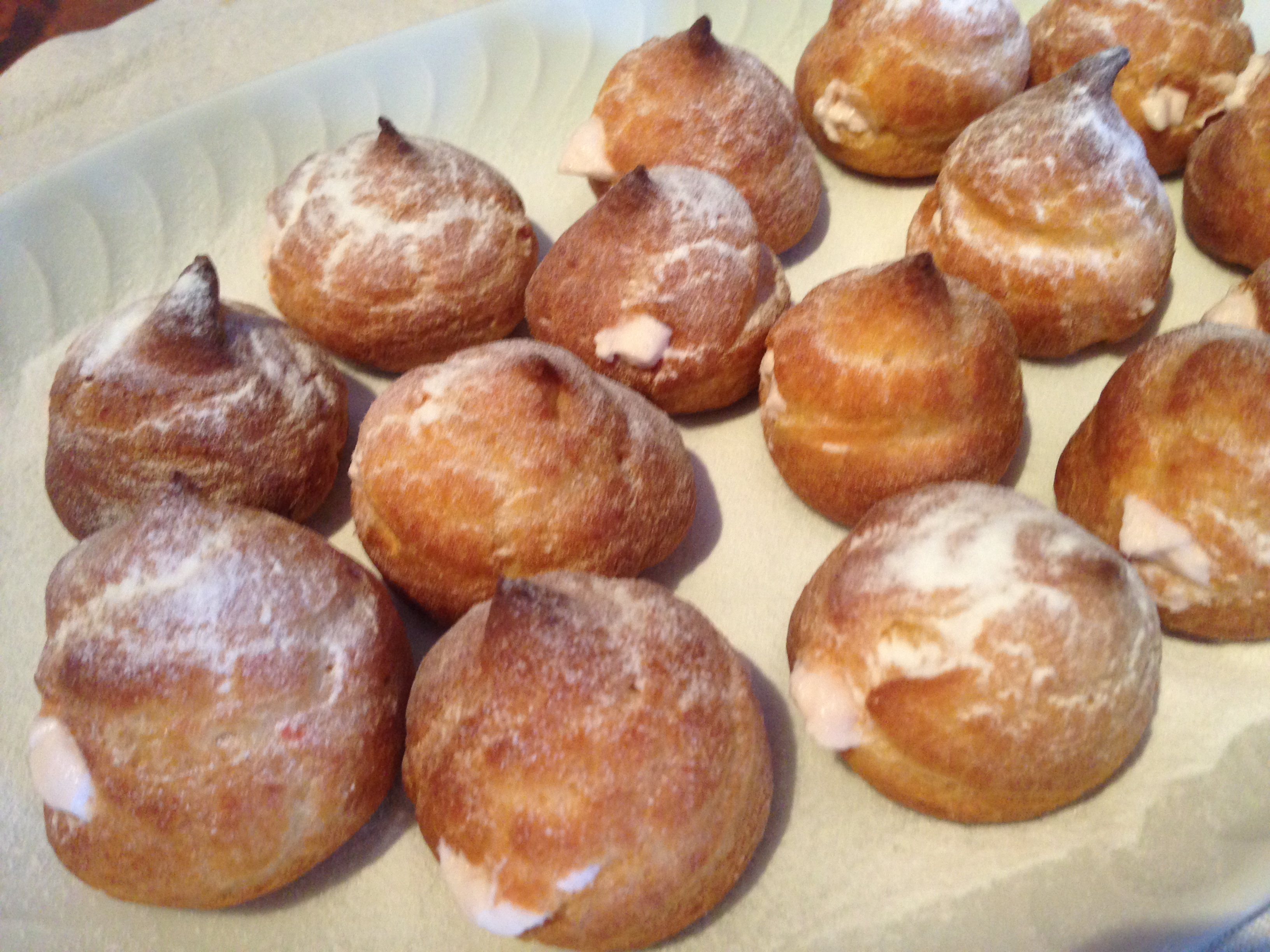 Recipe: Cream puffs | low fructose and lactose free