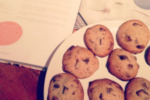 Sea Salt Chocolate Chips Cookies