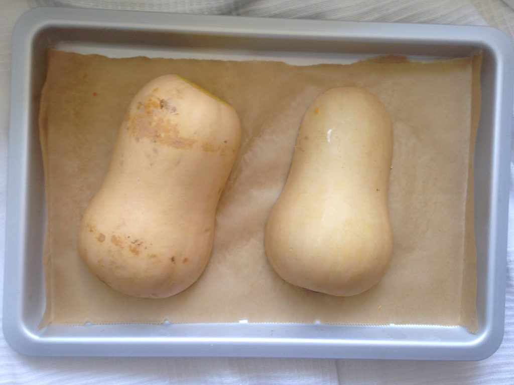 butternut squash to make pumpkin puree